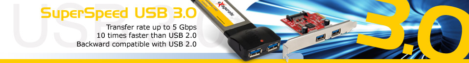 Express card and PCI Express Card USB 3.0
