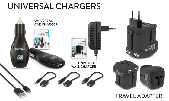 Universal Chargers