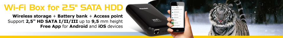 Wi-Fi HDD Enclosure
